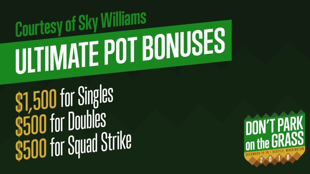 pot bonus sky williams ultimate dpg18